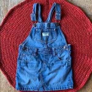 Girls skirt overalls size 5